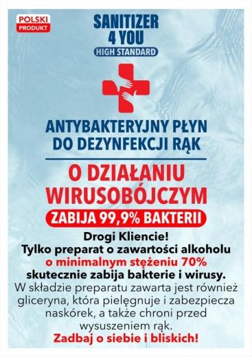 Płyn do dezynfekcji 135ml