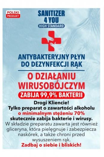 Płyn do dezynfekcji 120ml